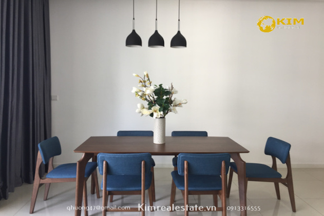 Estella Heights 3 bedrooms apartment high floor fully furnished