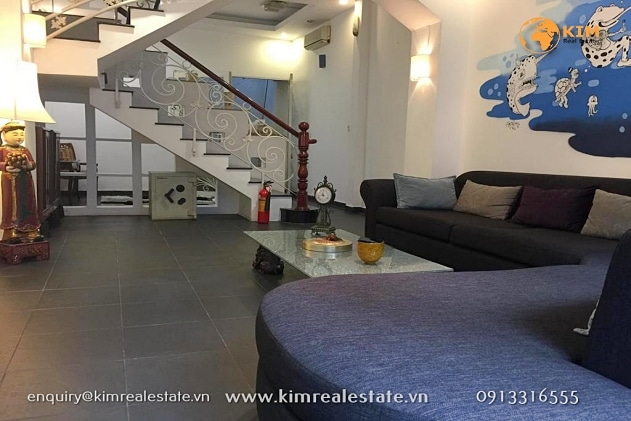 City house for rent right in heart of HCMC